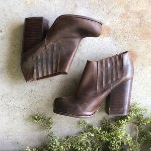 Jeffrey Campbell   Havana Last Clift Leather Boots